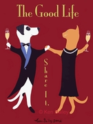 The Good Life - Premium Canvas Limited Edition Print