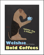WELSHIE BOLD COFFEES - Fine Limited Edition Print