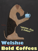 WELSHIE BOLD COFFEES - Premium Canvas Limited Edition