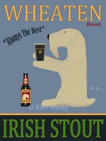 WHEATEN IRISH STOUT - Premium Canvas Limited Edition Print