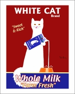 White Cat Milk - Five Sizes
