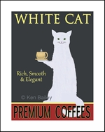 WHITE CAT PREMIUM COFFEE - Fine Limited Edition Print