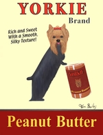 Yorkie Peanut Butter Poster