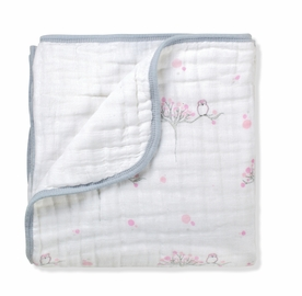 Aden + Anais Cotton Dream Blanket, For The Birds Owl