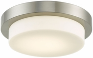 Abra 30014FM-BN Step Modern Brushed Nickel LED 11  Ceiling Lighting