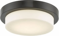 Abra 30014FM-BZ Step Contemporary Bronze LED 11  Ceiling Light