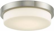 Abra 30015FM-BN Step Contemporary Brushed Nickel LED 13  Ceiling Lighting Fixture