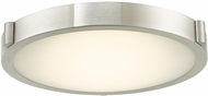 Abra 30066FM-BN Halo Modern Brushed Nickel LED 13  Overhead Lighting