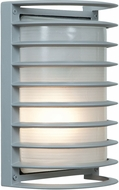 Access 20010MG-SAT-RFR Bermuda Contemporary Marine Grade Satin Nickel Outdoor Wall Lighting