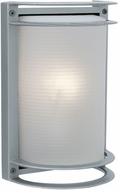 Access 20011MG-SAT-RFR Nevis Contemporary Marine Grade Satin Nickel Outdoor Light Sconce