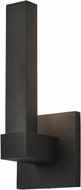Access 20045LEDDMG-BL-ACR Vertical Contemporary Marine Grade Black LED Outdoor Sconce Lighting
