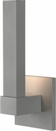 Access 20045LEDDMG-SAT-ACR Vertical Contemporary Marine Grade Satin Nickel LED Outdoor Lighting Sconce
