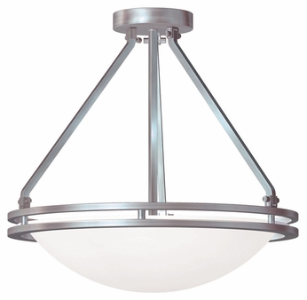 Access 20460 Aztec Modern 17  Wide Ceiling Light Fixture