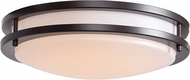 Access 20465GU-BRZ-ACR Solero Bronze Flourescent 14  Flush Mount Light Fixture