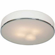 Access 20677-CH-OPL Aero Contemporary Chrome Finish 21.5  Wide Ceiling Light