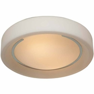 Access 20681-CH-OPL Splash Contemporary Chrome Finish 12.5  Wide Ceiling Lighting Fixture