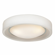 Access 20683LEDD-CH-OPL Splash Modern Chrome & Opal Glass LED Ceiling Lighting Fixture