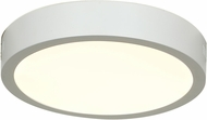 Access 20771LEDD-WH-ACR Strike Modern White & White Acrylic LED Flush Mount Lighting Fixture