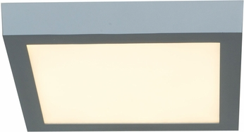 Access 20773LEDD-SILV-ACR Strike Contemporary Silver & White Acrylic LED Home Ceiling Lighting
