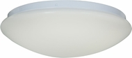 Access 20781LEDD-WH-ACR Catch Contemporary White & White Acrylic LED Flush Mount Ceiling Light Fixture