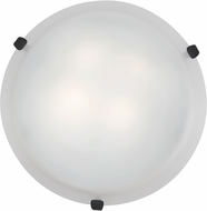 Access 23019LED-RU-WH Mona Rust & White Glass LED Ceiling Light Fixture