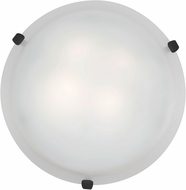 Access 23020LED-RU-WH Mona Rust & White Glass LED Home Ceiling Lighting