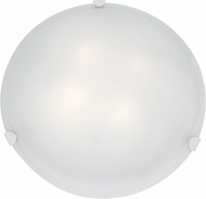 Access 23021LED-WH-WH Mona White & White Glass LED Overhead Lighting