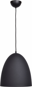 Access 23776-MBL-MGL Nostalgia Contemporary Matte Black Pendant Lighting