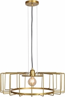 Access 23890LEDDLP-GLD Wired Contemporary Gold LED Pendant Hanging Light