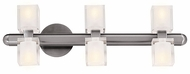 Access 23907 Astor Contemporary 6 Light Crystal Halogen Vanity Fixture