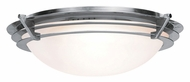 Access 50091 Saturn Modern 9.5  Wide Flush Mount Lighting