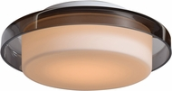 Access 50198LEDD-OPL-SMK Bellagio Contemporary Opal Glass LED Small Ceiling Light