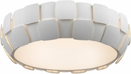 Access 50902-WH-WH Layers Contemporary White & White Acrylic Fluorescent Home Ceiling Lighting