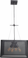 Access 50925-BL Epic Contemporary Black Small Pendant Light Fixture