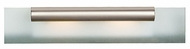 Access 62062-SAT-CH Roto 2-Light Acid Frost Glass Modern Bathroom Light Fixture