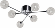 Access 62325-CH-CLR Opulence Modern Chrome Halogen Ceiling Lighting