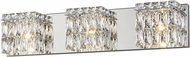 Access 62353LEDD-CH-CRY Magari Chrome LED 3-Light Bathroom Light