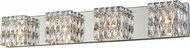 Access 62354LEDD-CH-CRY Magari Chrome LED 4-Light Bathroom Lighting Fixture