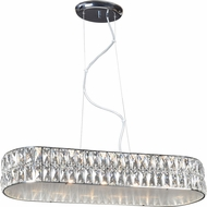 Access 62360LEDD-CH-CRY Magari Chrome LED Kitchen Island Light
