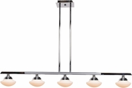 Access 62495LEDD-CH-OPL Atomiser Modern Chrome LED Island Lighting