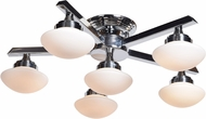 Access 62496LEDD-CH-OPL Atomiser Contemporary Chrome LED Ceiling Light Fixture
