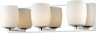 Access 62562LEDDLP-MSS-OPL Serenity Modern Mirrored Stainless Steel LED 2-Light Bathroom Sconce