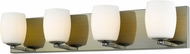 Access 62563LEDDLP-AB-OPL Serenity Contemporary Antique Brass LED 3-Light Vanity Lighting Fixture