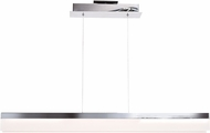 Access 63981LEDD-CH-ACR Linear Contemporary Chrome LED Kitchen Island Light