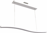 Access 63984LEDD-WH-ACR Ripple Contemporary White LED Island Light Fixture