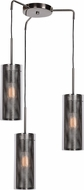 Access 63988-BCH-CLR Multis Contemporary Black Chrome Multi Drop Lighting