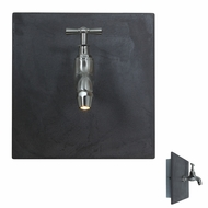 Access 70060 Waterworks Contemporary 8  Tall LED Exterior Vanity Lighting