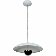 Access 70073LEDD Pulsar Contemporary 17  Wide LED Flush Mount Lighting Fixture