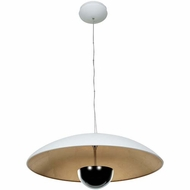 Access 70074LEDD Pulsar Modern 9  Tall LED Flush Ceiling Light Fixture