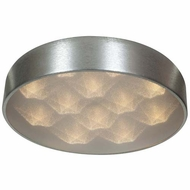 Access 70081LEDD-BSL-ACR Meteor Modern Brushed Silver Finish 4.5  Tall LED Home Ceiling Lighting